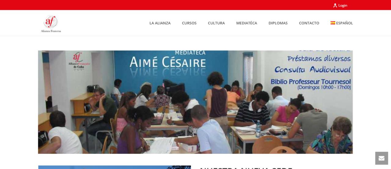 Alianza Francesa en Cuba - W3BSolution