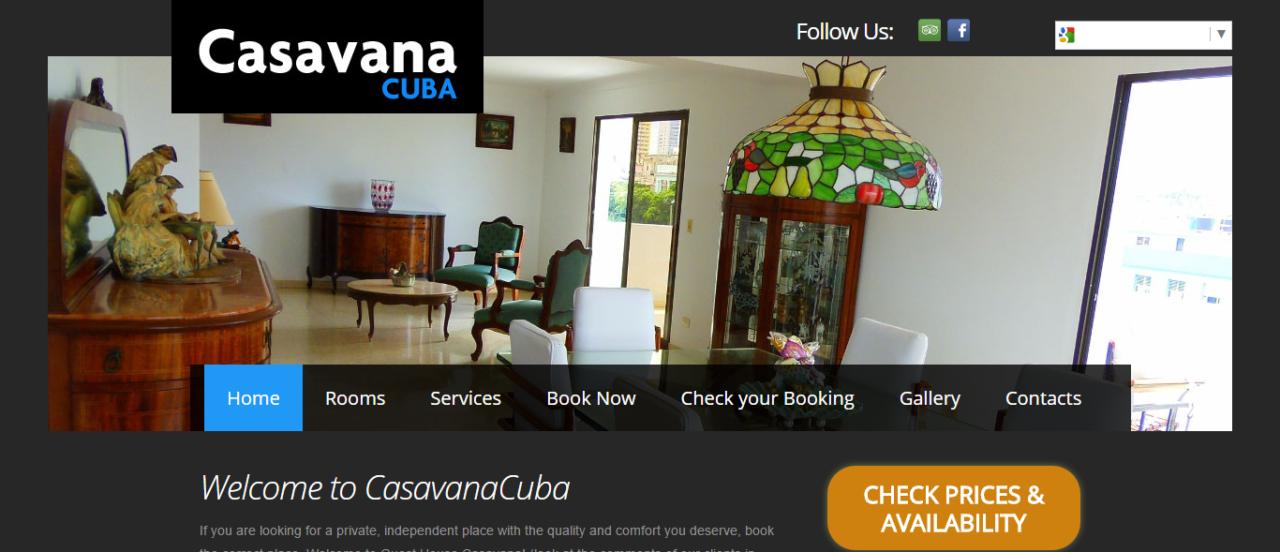 Casavana Cuba - W3BSolution