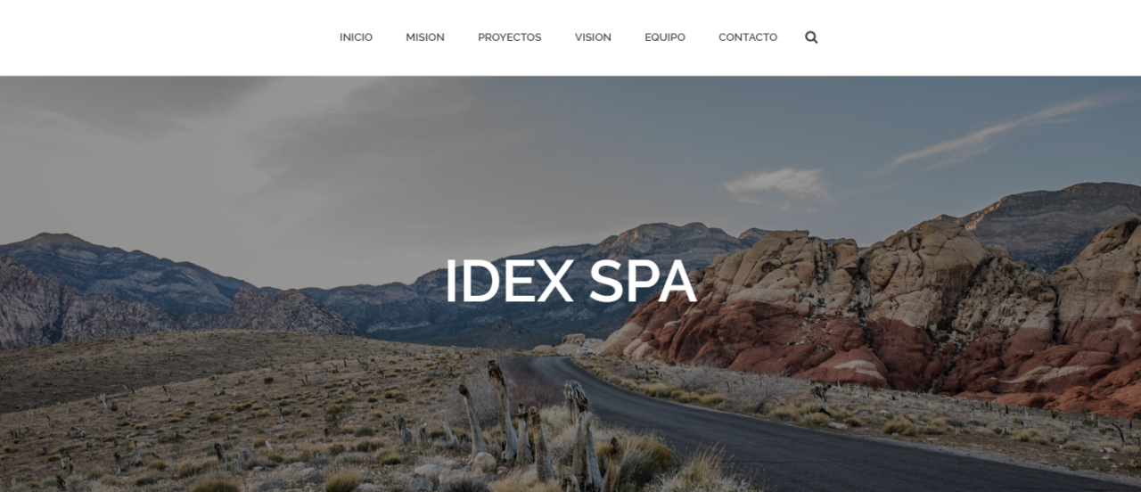 Idex Spa - W3BSolution